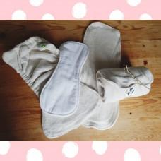 Diaper insert types