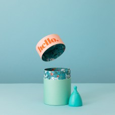 Hello. cup - Blue