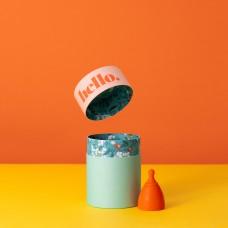 Hello. cup - Orange
