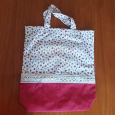 Shopping bag - Tiny rose