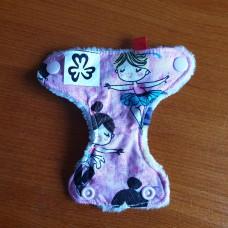 Mini diaper - Ballet