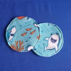Breast Pad - Shark