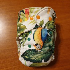 Fitted diaper - Tropical