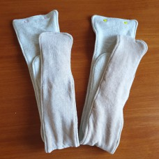 Fitted diaper Insert