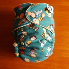 Wandering Fitted diaper - Snoopy