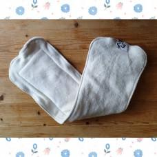 Large diaper insert - cotton velour