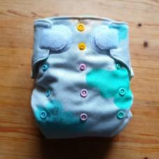 Diaper cover - Milk drop