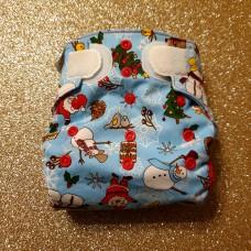 Diaper cover - Christmas