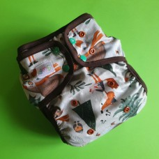 Diaper cover - Forest holiday