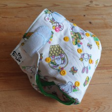 Diaper cover - Easter