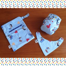 Newborn diaper set - Mickey mouse