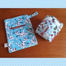 Newborn diaper set - Winter