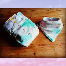 Newborn diaper set - Drop of milk