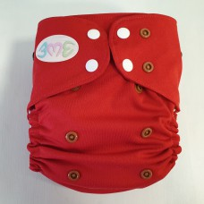 OS Pocket diaper - Rudolph in red