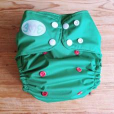 OS Pocket diaper - Rudolph in green